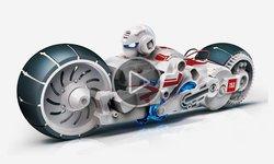 Відеоогляд конструктора CIC 21-753 Робот-мотоцикл на енергії солоної води
