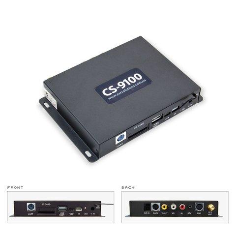 Навигационная система для Toyota Touch&Go на базе CS9100 Car Solutions Edition