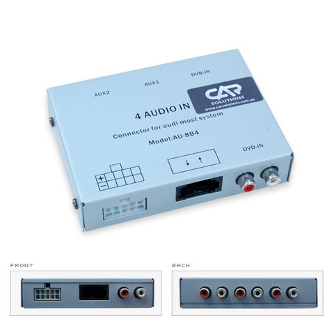 Audio MOST Interface for Audi Q7 A8 A6