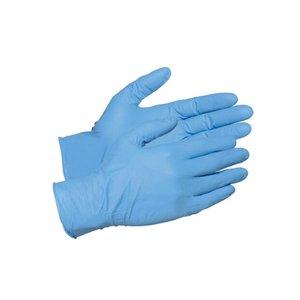 Нитриловые перчатки размер M, 100 шт. упаковка