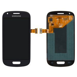 LCD for Samsung I8190 Galaxy S3 mini Cell Phone, (dark blue, with touchscreen, original (change glass) )