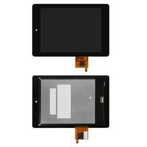 LCD compatible with Acer Iconia Tab A1-810, Iconia Tab A1-811, (black, with touchscreen)