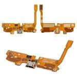 Flat Cable LG D405 Optimus L90, D410 Optimus L90 Dual SIM, D415 Optimus L90, (microphone, charge connector, with components)