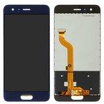 LCD compatible with Huawei Honor 9, (dark blue, with touchscreen, (type 2), Original (PRC), STF-L09/STF-L19/STF-AL10/STF-AL00/STF-TL10)
