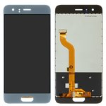 LCD compatible with Huawei Honor 9, (grey, with touchscreen, (type 2), Original (PRC), STF-L09/STF-L19/STF-AL10/STF-AL00/STF-TL10)