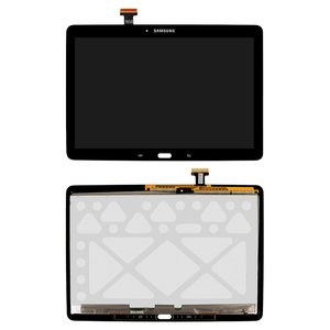 Pantalla LCD para tablet PC Samsung T520 Galaxy Tab Pro 10.1, T525 Galaxy Tab Pro 10.1 LTE, negro, con cristal táctil