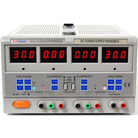 Регульований блок живлення HY3003М 3 зі світлодіодними індикаторами