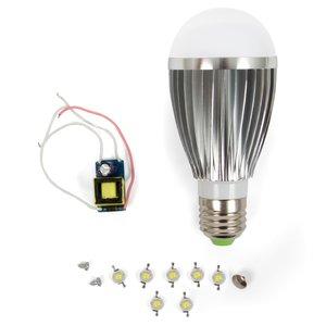 Комплект для збирання LED-лампи SQ-Q03 E27 7 Вт – теплий білий