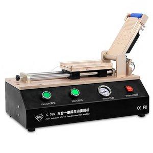 Ламінатор плівки (OCA, поляризаційної) TBK-768 для смартфонів з вбудованим вакуумним насосом