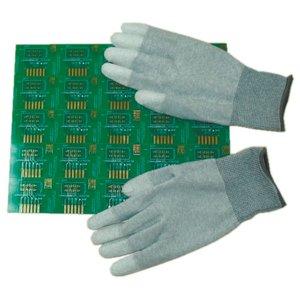 Антистатичні рукавиці Maxsharer Technology C0504-XL з поліуретановим покриттям пальців