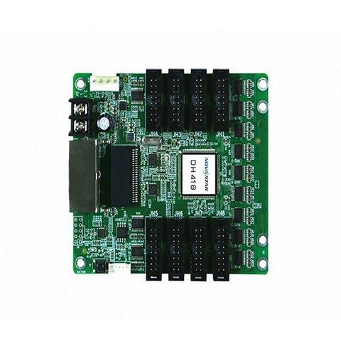 Приемная карта сигнала LED дисплея Novastar DH418 256×256, 8×HUB75E