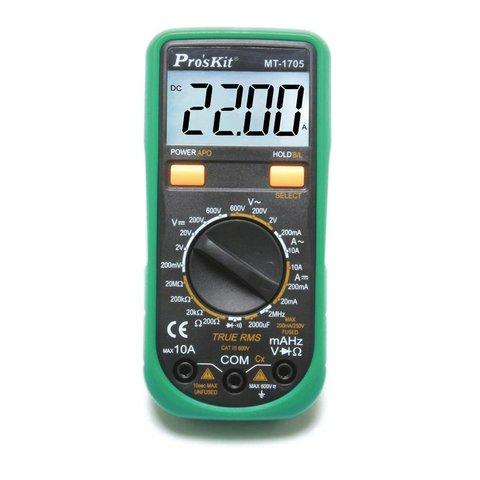 Цифровий мультиметр Pro'sKit MT 1705