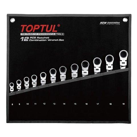 Набір гайкових ключів TOPTUL GPAQ1204
