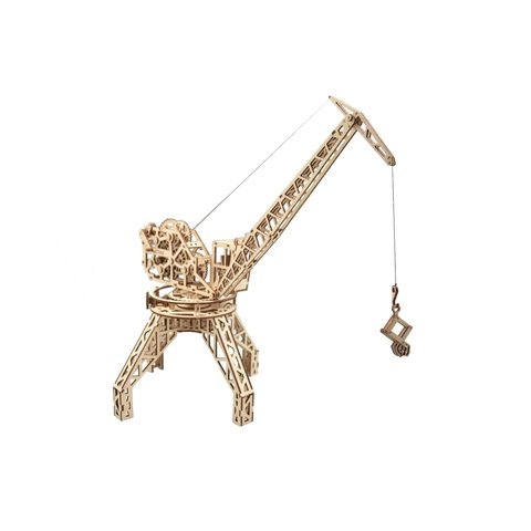 Mechanical 3D Puzzle Wood Trick Tower Crane - /*Photo|product*/