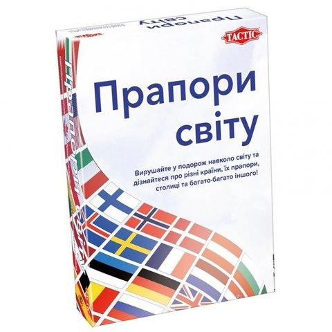 Настільна гра Tactic Прапори світу