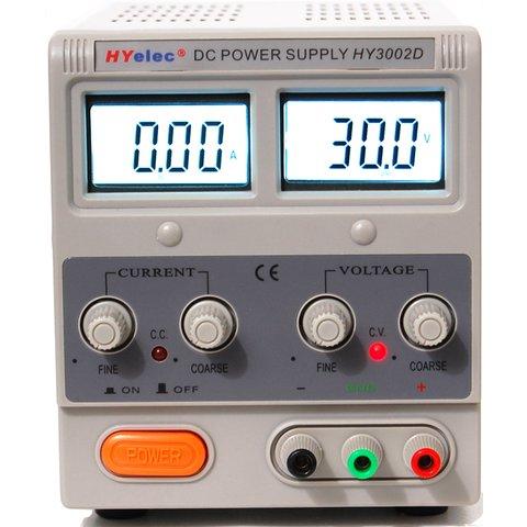 DC Power Supply  HYelec HY3002D